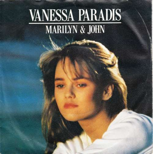 <b>...</b> Vanessa-Paradis-Marilyn-John-7-Single-Vinyl-744 - 1016446-0