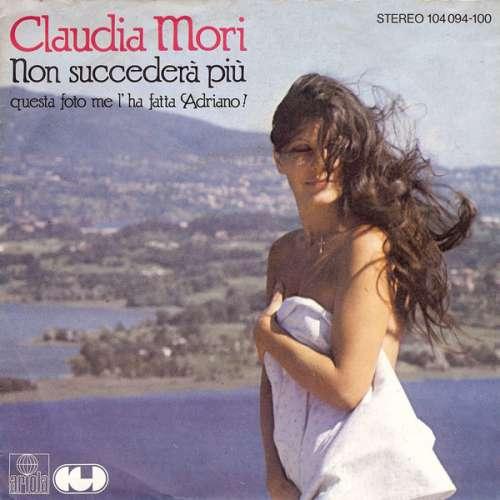 Claudia-Mori-Non-Succedera-Piu-7-034-Single-Vinyl-Schallplatte-11543