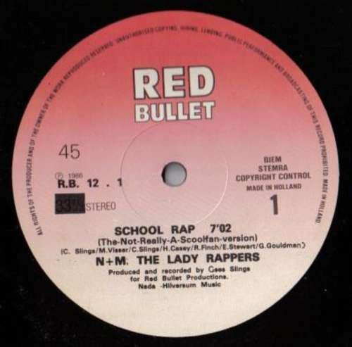 N-amp-M-The-Lady-Rappers-School-Rap-12-034-Vinyl-Schallplatte-107490