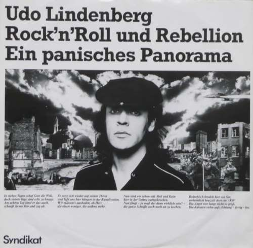 udo lindenberg rock 39 n 39 roll und rebellion ein 12 vinyl. Black Bedroom Furniture Sets. Home Design Ideas