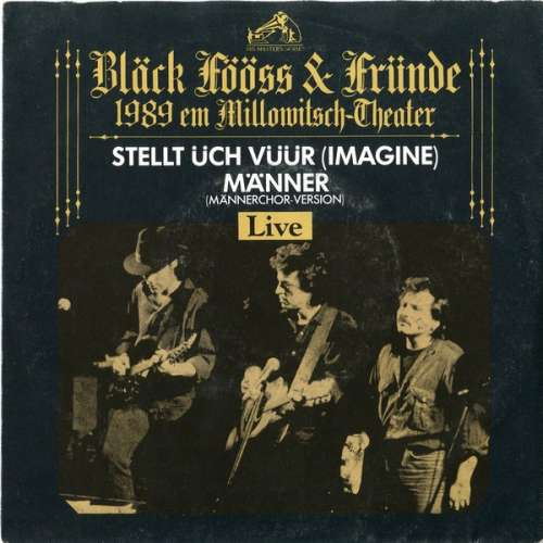 Blaeck-Foeoess-Blaeck-Foeoess-amp-Fruende-1989-Em-Millow-7-034-Vinyl-Schallplatte-808