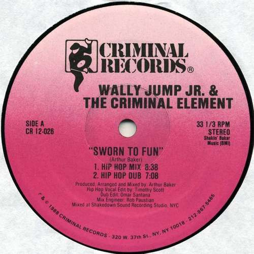 Wally-Jump-Jr-amp-The-Criminal-Element-Sworn-T-12-034-Vinyl-Schallplatte-107778