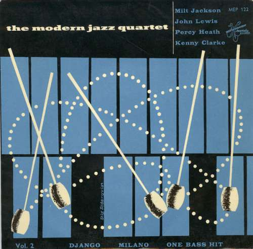 Modern-Jazz-Quartet-The-Vol-2-Django-Milano-One-Bass-H-7-Vinyl