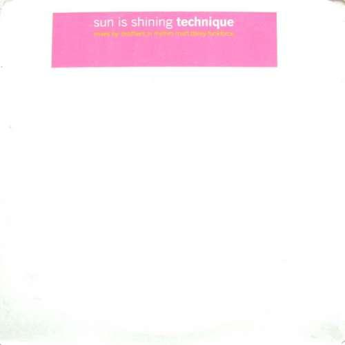 Technique-Sun-Is-Shining-2x12-Promo-Vinyl-22187