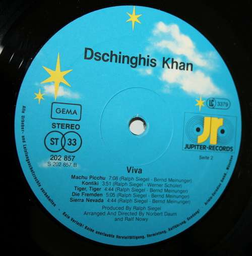Dschinghis Khan Viva