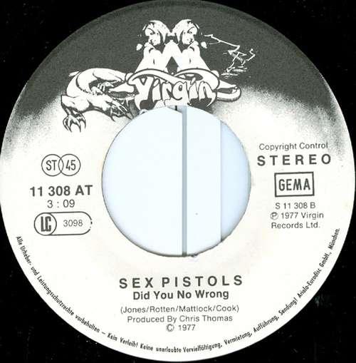 Sex Pistols God save the queen chat sexe gratuit