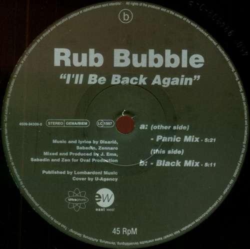 Rub-Bubble-I-039-ll-Be-Back-Again-12-034-Vinyl-Schallplatte-91308