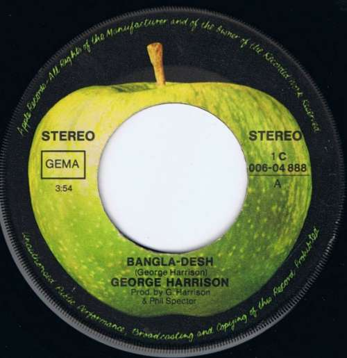 George-Harrison-Bangla-Desh-Deep-Blue-7-034-Sin-Vinyl-Schallplatte-3170