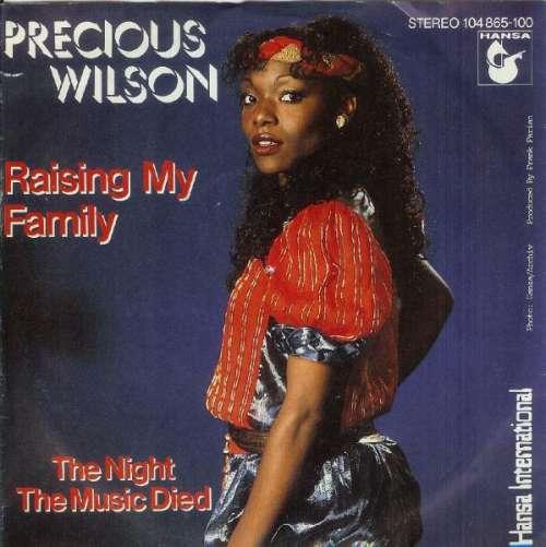 Precious-Wilson-Raising-My-Family-7-034-Single-Vinyl-Schallplatte-10044