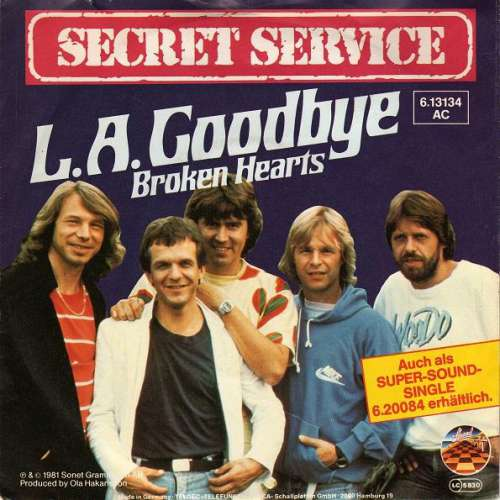 Secret-Service-L-A-Goodbye-7-034-Single-Vinyl-Schallplatte-15060