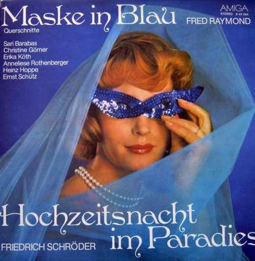 Fred-Raymond-Friedrich-Schroeder-Maske-In-Blau-Vinyl-Schallplatte-106271
