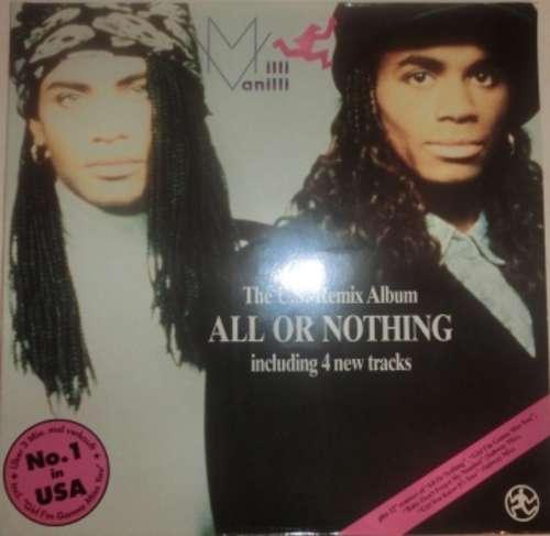 Milli-Vanilli-All-Or-Nothing-The-U-S-Remix-Vinyl-Schallplatte-111700