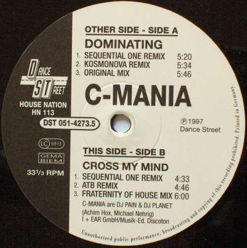 C-Mania-Dominating-Cross-My-Mind-12-034-Vinyl-Schallplatte-102615