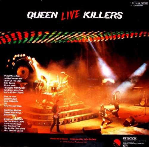 queen live killers 2xlp album gat vinyl schallplatte 95723 ebay. Black Bedroom Furniture Sets. Home Design Ideas