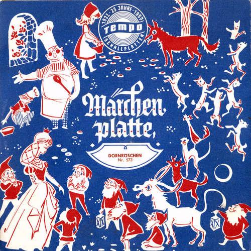 Cover Märchentante Margit Seeber* - Dornröschen (7, Single) Schallplatten Ankauf