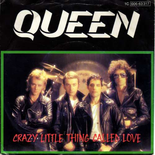 Cover zu Queen - Crazy Little Thing Called Love (7, Single) Schallplatten Ankauf