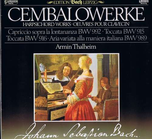 Bild Johann Sebastian Bach, Armin Thalheim - Cembalowerke (LP, Club) Schallplatten Ankauf