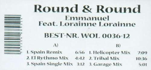 Bild Emmanuel (3) Feat. Lorainne Lorainne* - Round & Round (12, W/Lbl) Schallplatten Ankauf