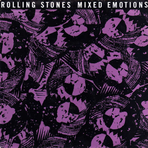 Cover Rolling Stones* - Mixed Emotions (7, Single) Schallplatten Ankauf