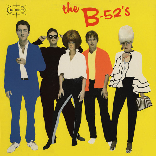 Cover The B-52's - The B-52's (LP, Album, RP) Schallplatten Ankauf