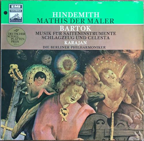 Bild Hindemith* / Bartok* - Karajan* / Die Berliner Philharmoniker* - Mathis Der Maler / Musik Für Saiteninstrumente, Schlagzeug Und Celesta (LP) Schallplatten Ankauf