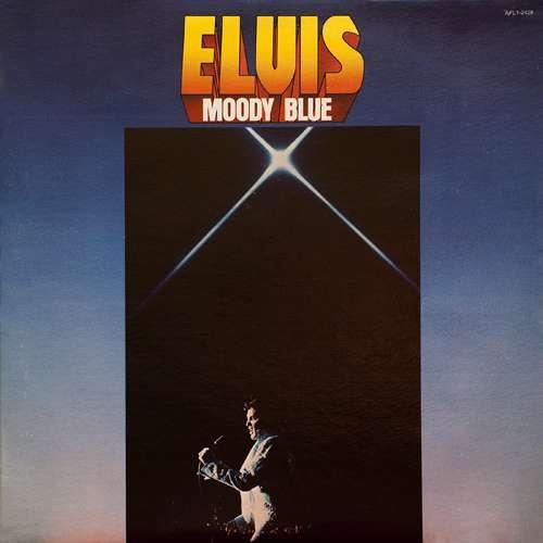 Cover Elvis Presley - Moody Blue (LP, Album, Blu) Schallplatten Ankauf