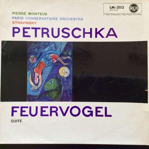 Bild Monteux* & Paris Conservatoire Orchestra* & Stravinsky* - Petruschka Feuervogel Suite (LP, Mono) Schallplatten Ankauf