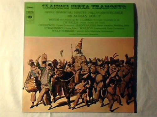 Cover The London Philharmonic Orchestra Conducted By Sir Adrian Boult - Opere Immortali Dirette Dall'Indimenticabile (LP, Comp) Schallplatten Ankauf