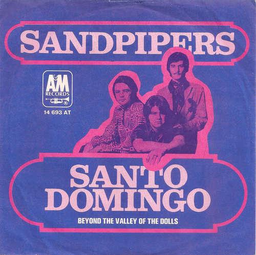 Cover The Sandpipers - Santo Domingo (7, Single) Schallplatten Ankauf