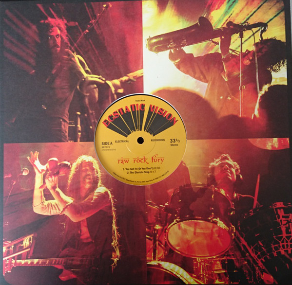 Cover Ecstatic Vision - Raw Rock Fury (LP, Album) Schallplatten Ankauf