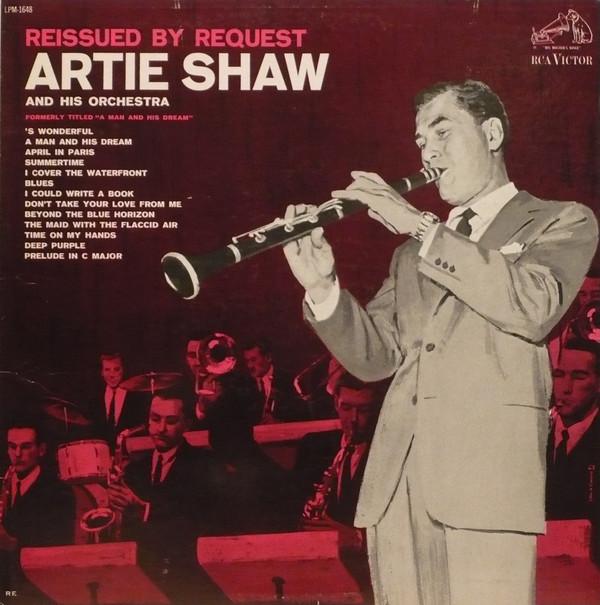 Cover Artie Shaw And His Orchestra - Reissued By Request (LP, Album, Comp, Mono, RE, Ind) Schallplatten Ankauf