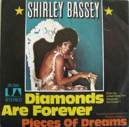 Cover zu Shirley Bassey - Diamonds Are Forever (7, Single) Schallplatten Ankauf