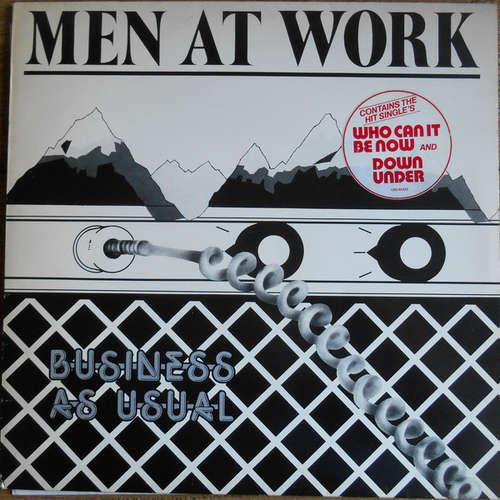 Cover Men At Work - Business As Usual (LP, Album) Schallplatten Ankauf