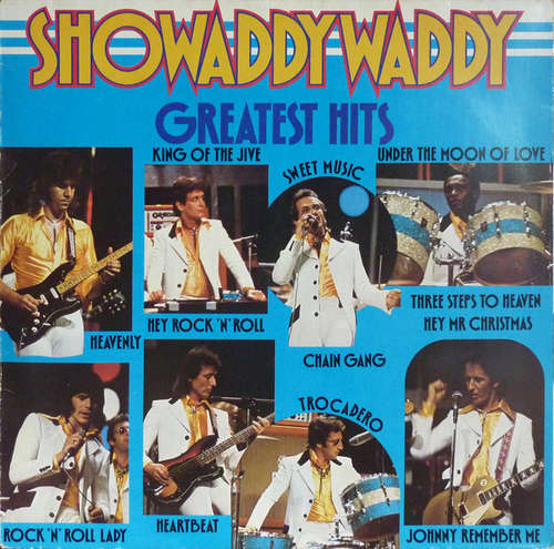 Cover Showaddywaddy - Greatest Hits (LP, Comp, Bla) Schallplatten Ankauf