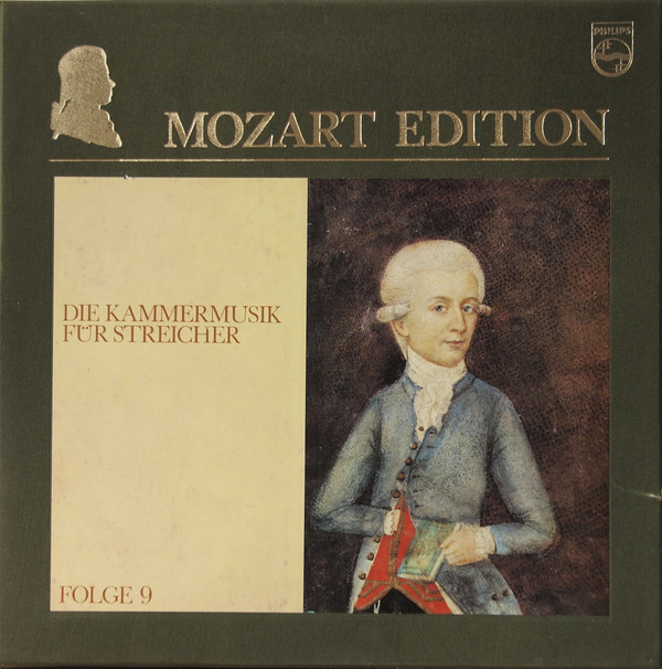 Cover Wolfgang Amadeus Mozart - Mozart Edition 9 ● Die Kammermusik Für Streicher (15xLP + Box, Comp) Schallplatten Ankauf