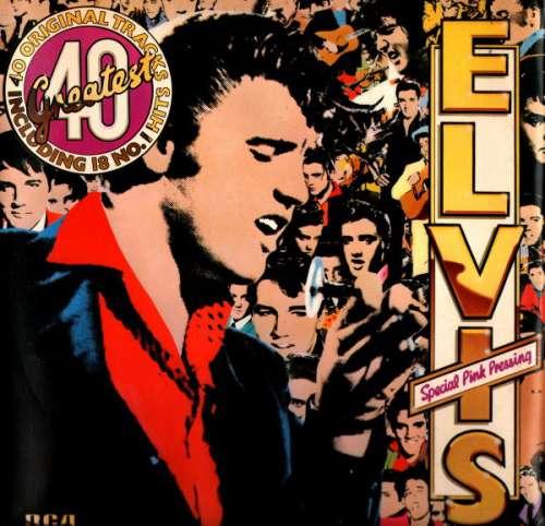 Cover zu Elvis Presley - Elvis's 40 Greatest (2xLP, Comp, Mono, Pin) Schallplatten Ankauf