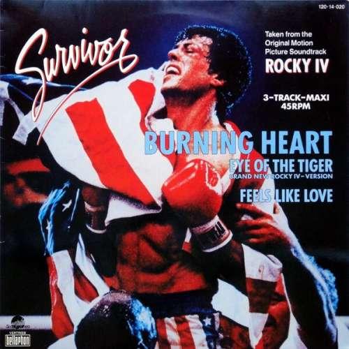 Bild Survivor - Burning Heart (12, Maxi) Schallplatten Ankauf