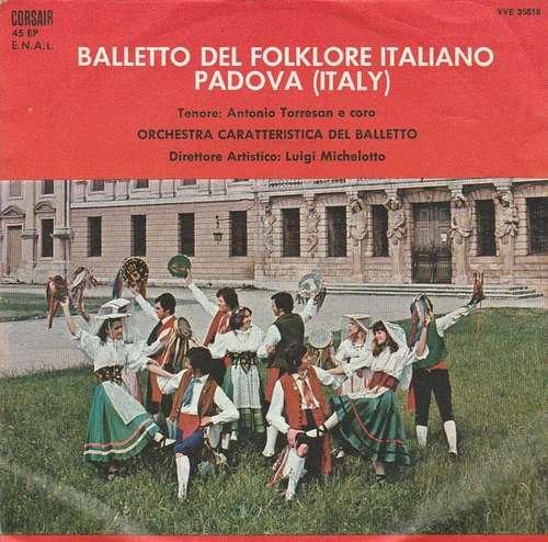 Bild Orchestra Caratteristica Del Balletto - Balletto Del Folklore Italiano Padova (Italy) (7, EP) Schallplatten Ankauf