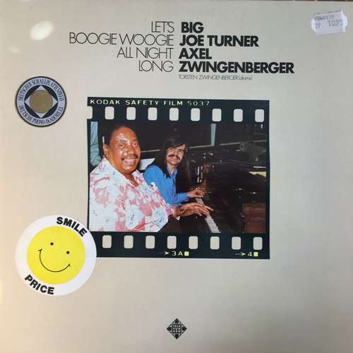 Bild Big Joe Turner / Axel Zwingenberger - Let's Boogie Woogie All Night Long (LP, Album, RE) Schallplatten Ankauf
