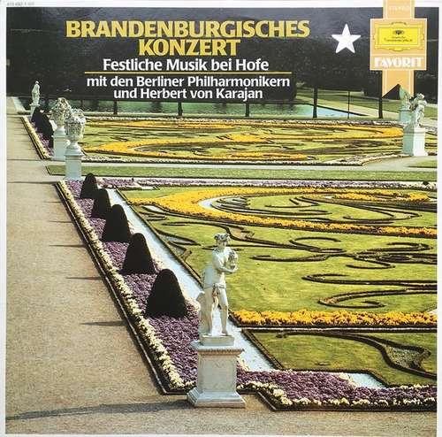 Bild Johann Sebastian Bach, Herbert von Karajan, Berliner Philharmoniker - Brandenburgerisches Konzert (LP, Album) Schallplatten Ankauf
