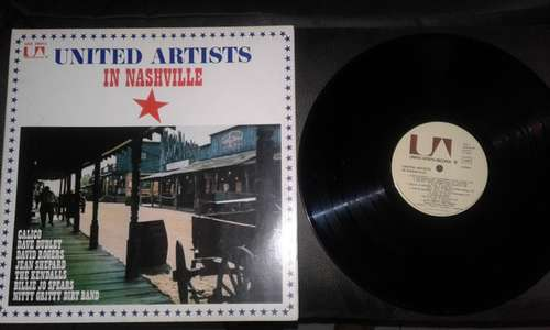 Cover zu Various - United Artists In Nashville (LP, Comp, Gat) Schallplatten Ankauf