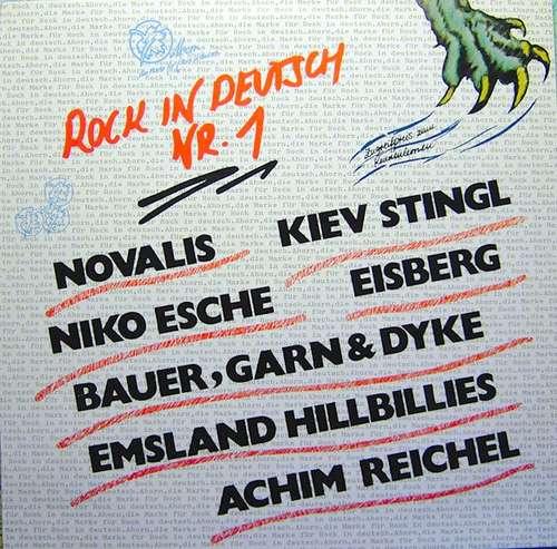 Cover zu Various - Rock In Deutsch Nr. 1 (LP, Comp) Schallplatten Ankauf