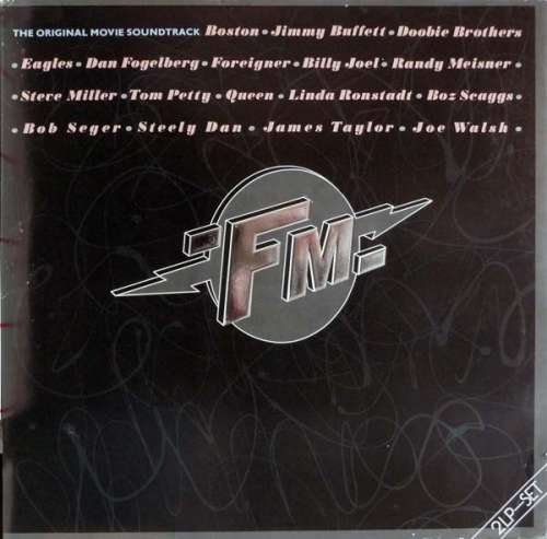 Cover zu Various - FM (The Original Movie Soundtrack) (2xLP, Comp) Schallplatten Ankauf