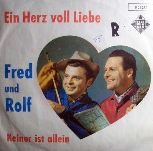 Cover zu Fred Und Rolf Mit Den Vagabunden - Ein Herz Voll Liebe (7, Single) Schallplatten Ankauf