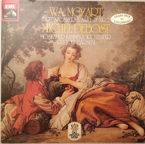 Bild W. A. Mozart*, Michel Debost, Moskauer Kammerorchester*, Rudolf Barshai - Floetenkonzerte Nr.1 & Nr.2 (LP) Schallplatten Ankauf
