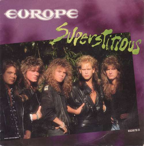 Bild Europe (2) - Superstitious (7, Single) Schallplatten Ankauf