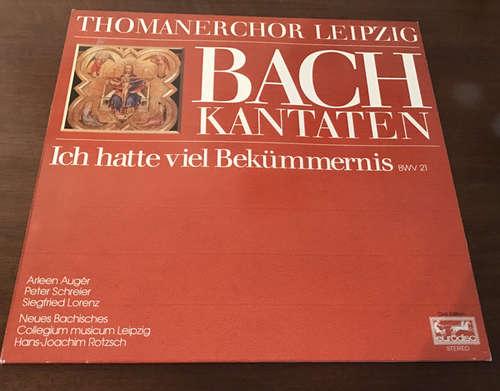 Bild Bach* / Thomanerchor Leipzig*, Arleen Augér*, Peter Schreier - Ich Hatte Viel Bekümmernis Kantate BWV 21 (LP, Album, Club) Schallplatten Ankauf