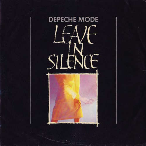 Cover Depeche Mode - Leave In Silence (7, Single, Red) Schallplatten Ankauf