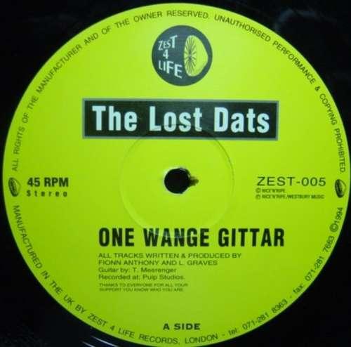 Cover zu The Lost Dats - One Wange Gittar (12, Yel) Schallplatten Ankauf