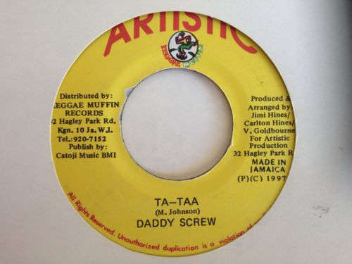 Cover Daddy Screw - Ta-Taa (7, Single) Schallplatten Ankauf